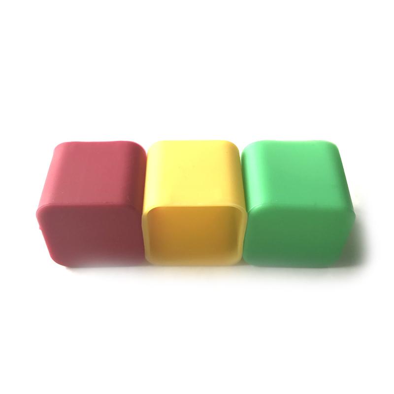 彩色方形硅胶套