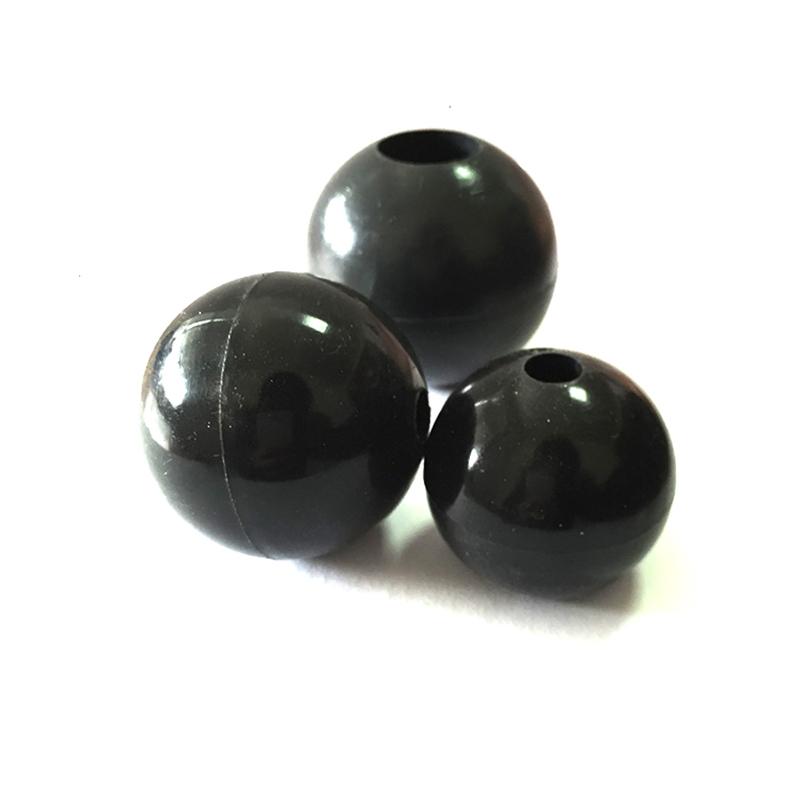 液体镜面抛光带孔的硅胶球