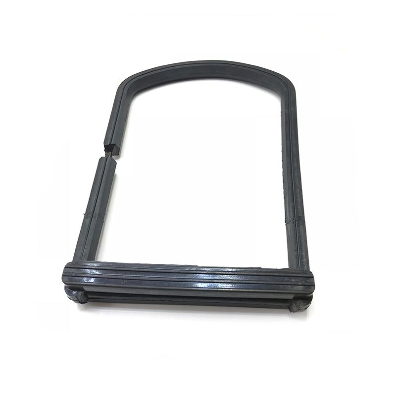 刀闸阀采用橡胶粘接剂对金属U型圈密封圈进行密封