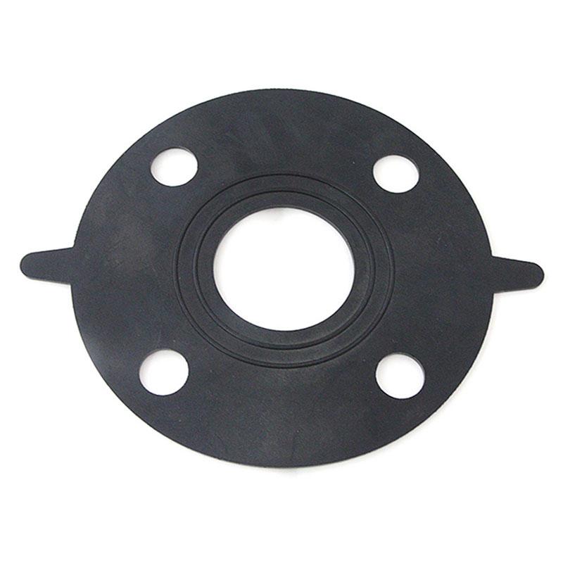 使用法兰垫片的耐用化学工业管道
