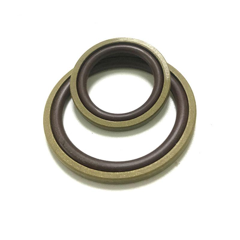 PTFE +铜垫圈和NBR O型圈组合密封
